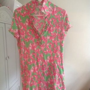 Lilly Polo Style Dress